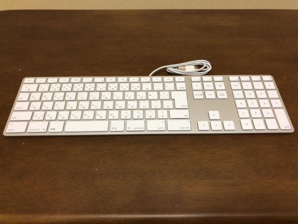 Appleキーボード開封